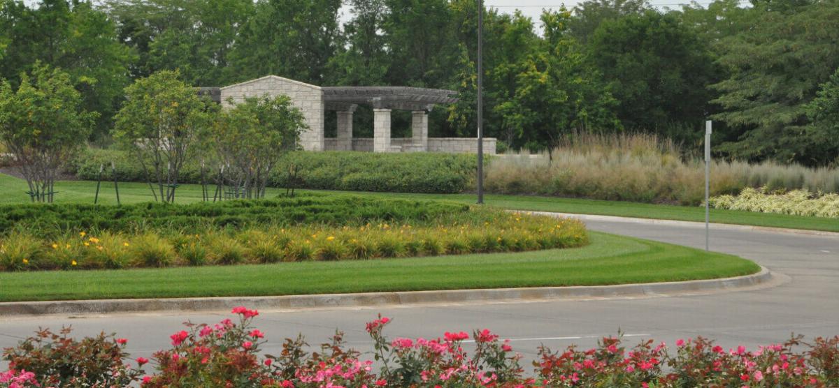 Landscape design completed by Embassy Landscape Group.