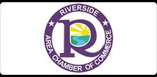 Riverside Area Chamber of Commerce logo.