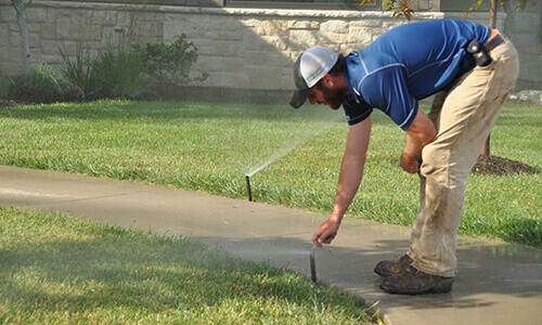 irrigation upgrade and repair